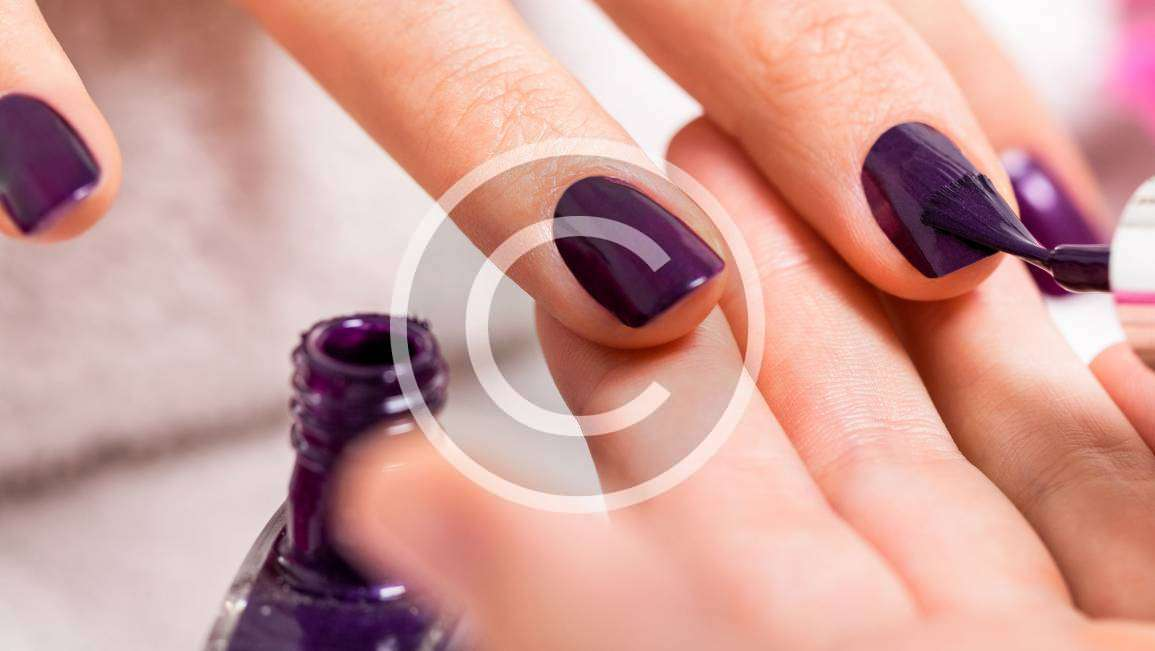 How to Get Geometric Nail Art